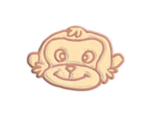 猴头 3D打印模型渲染图