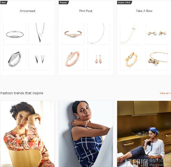 印度珠宝商Melorra开发3D打印珠宝市场 已获500万美元风头.jpg