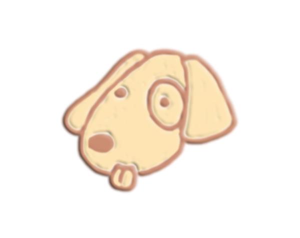 狗头 3D打印模型渲染图