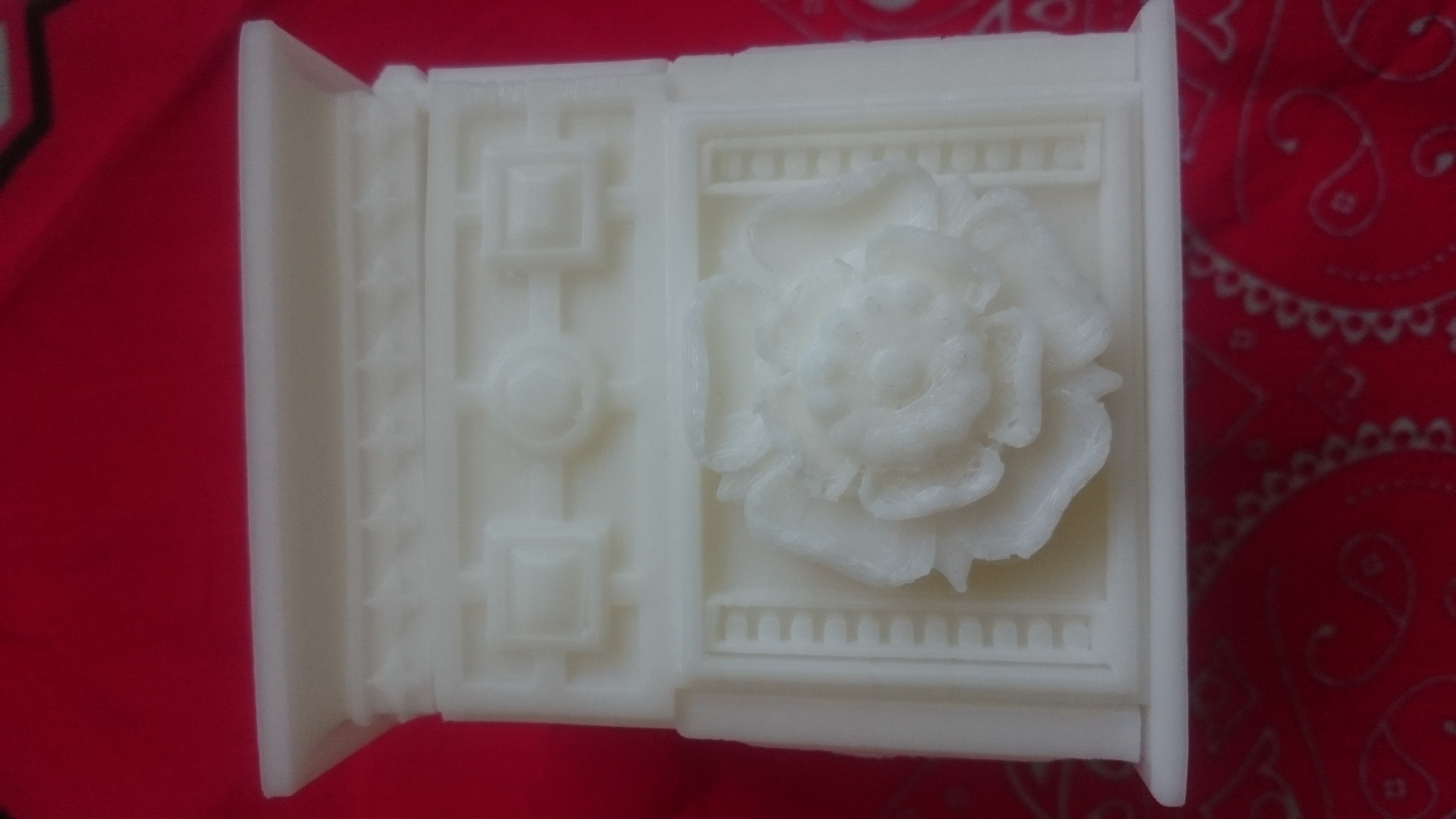 玫瑰盒子 3D打印图片