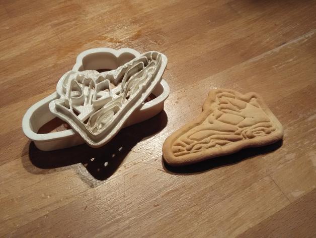 篮球鞋饼干模具