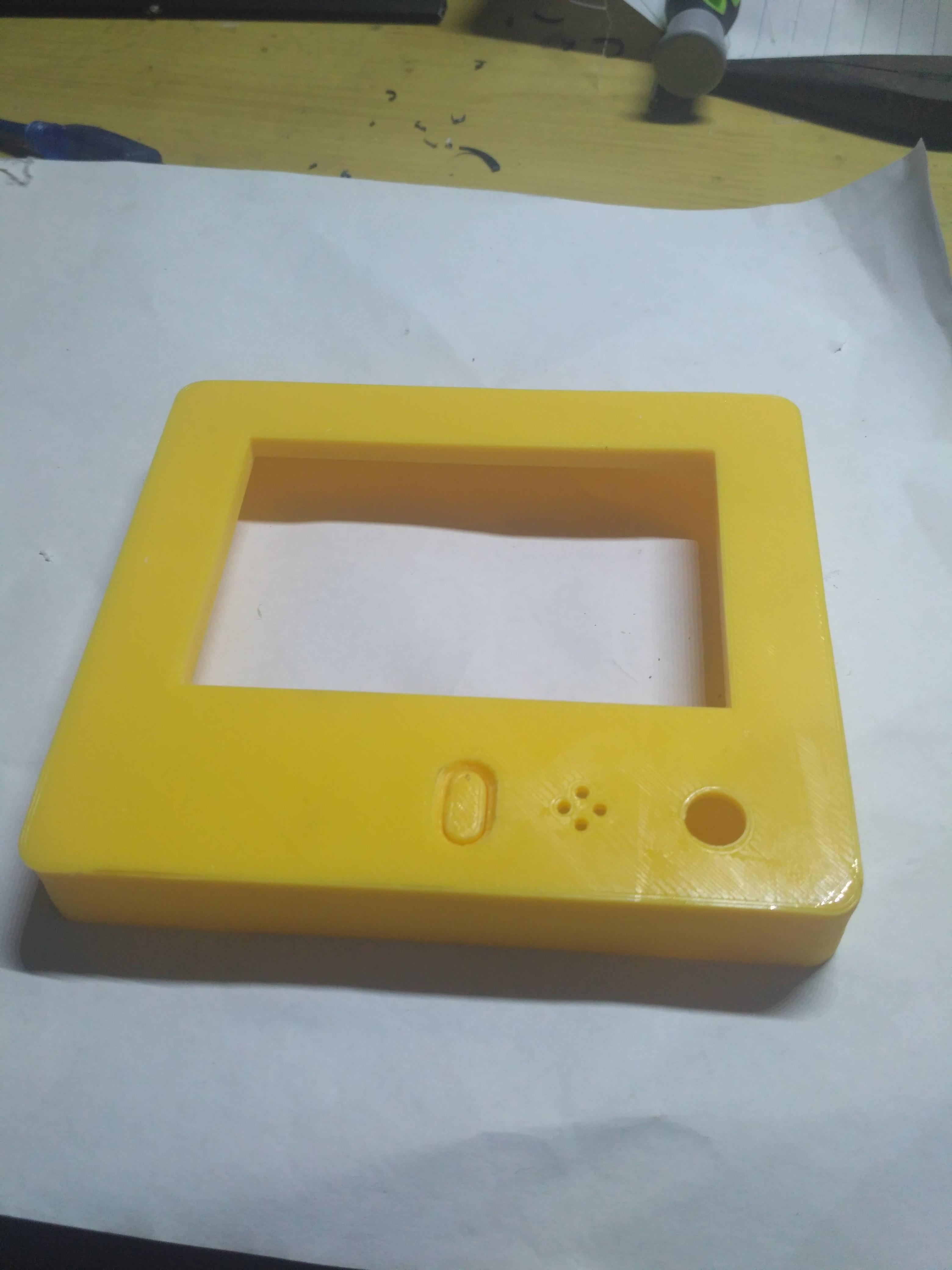 LCD控制器外壳 3D打印图片