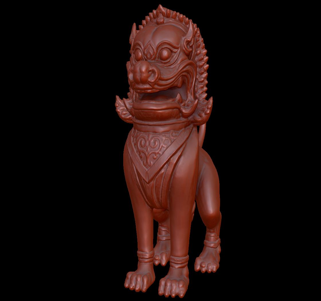 泰国狮子神兽