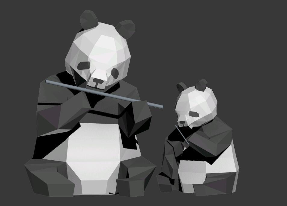 大熊猫小熊猫