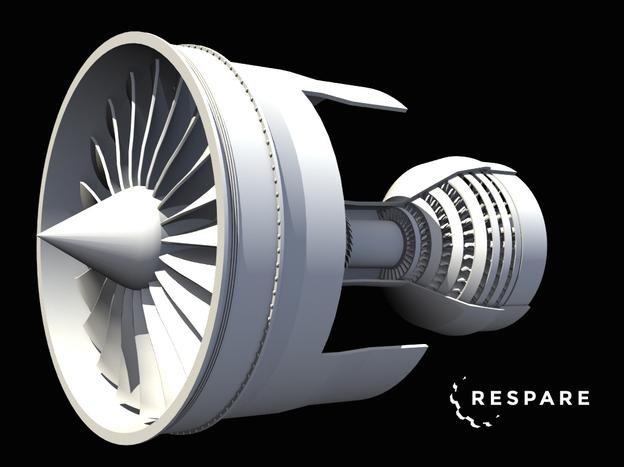 涡轮发动机模型
