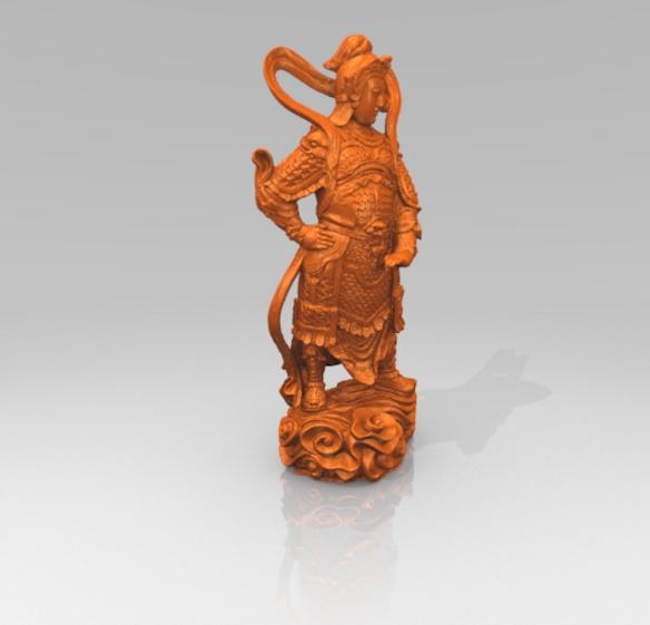 韦陀菩萨模型