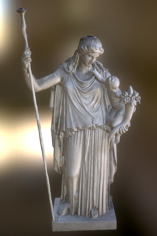 希腊女雕像