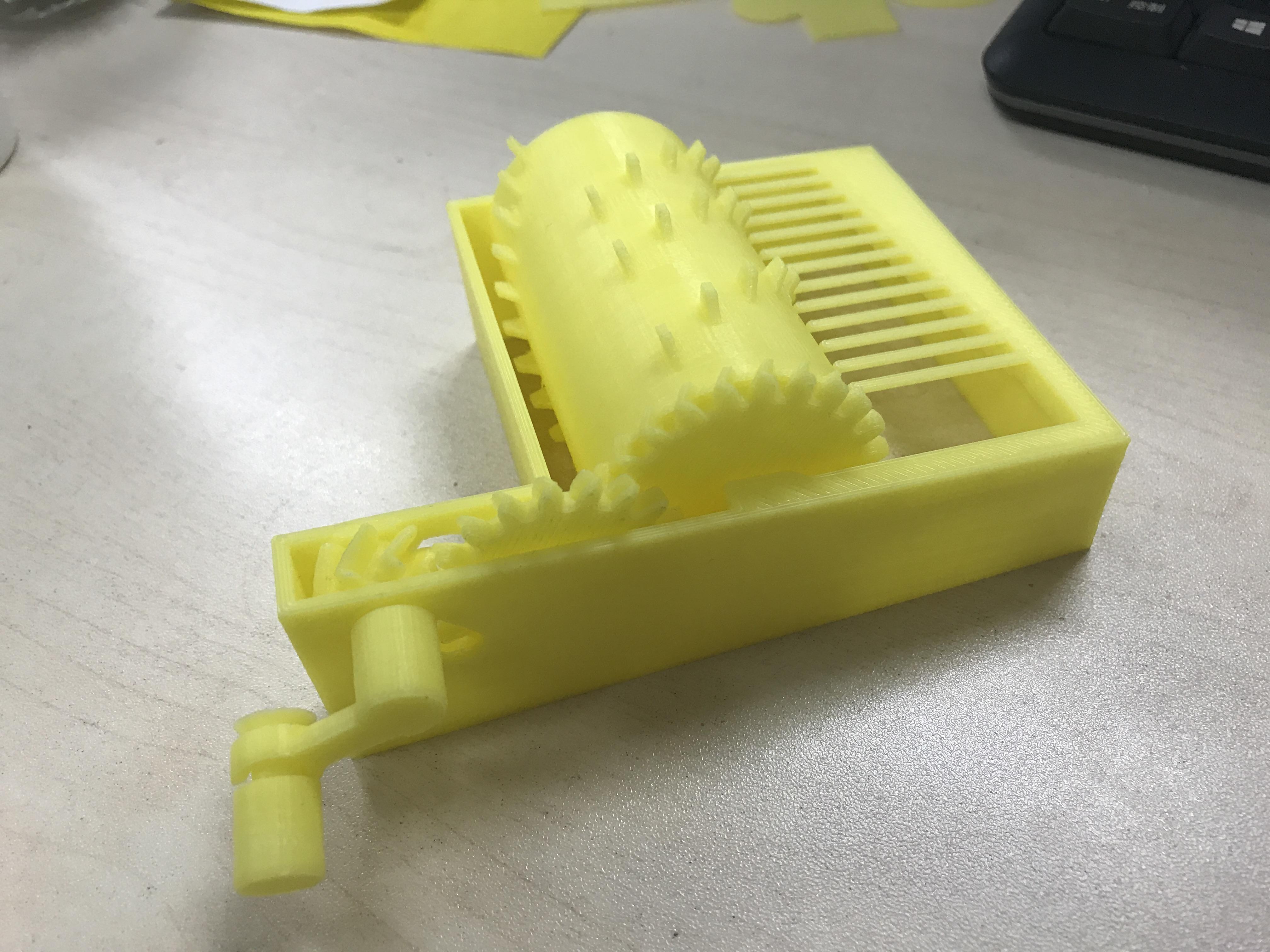 音乐盒 3D打印图片