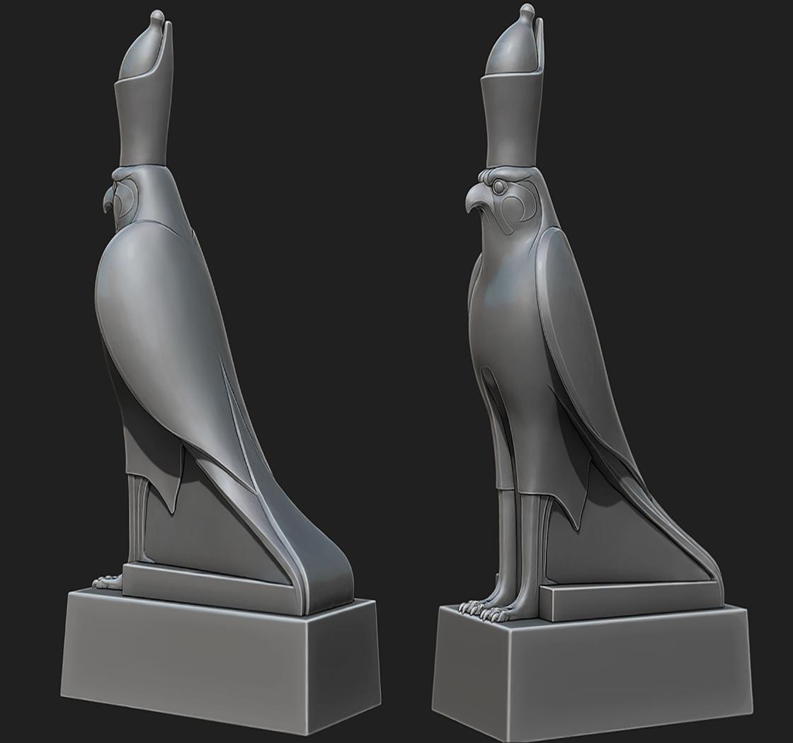 古埃及神像荷鲁斯