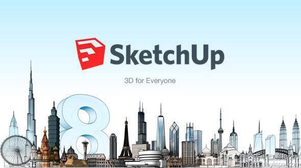 快来秒秒学!sketchup建模教程分享
