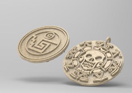 加勒比海盗金币