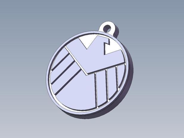 漫画英雄联盟神盾钥匙扣