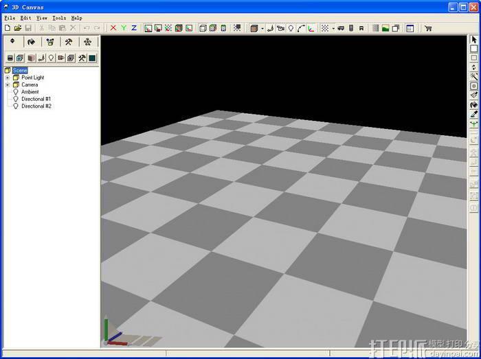 3D模型与动画制作软件--Amabilis 3D Canvas