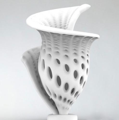 造型独特的花瓶