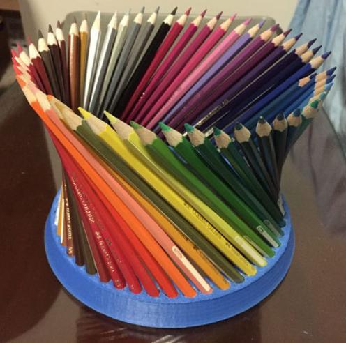 彩色铅笔笔座