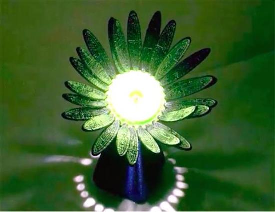 研究人员开发出在光线照射下会自动绽放的3D打印花