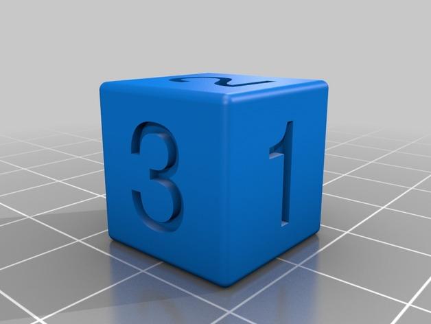 六面体骰子