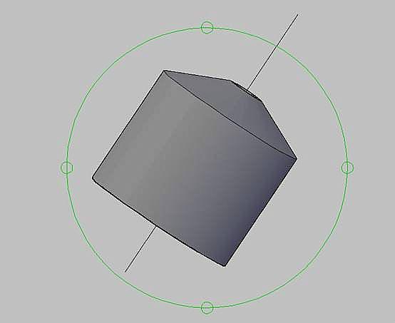 AutoCAD建模教程:绘制零件