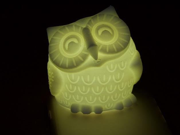 猫头鹰灯罩
