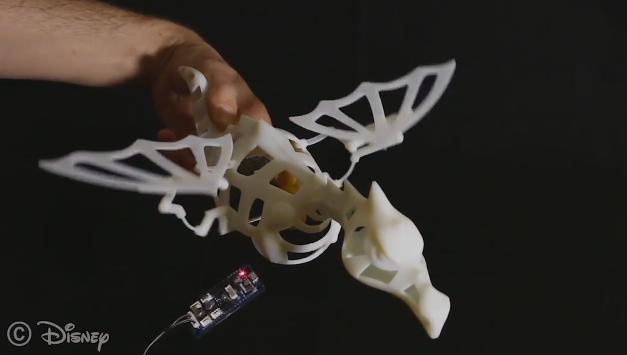 迪士尼开发出能设计出3D打印移动方式更接近生物的机器的工具
