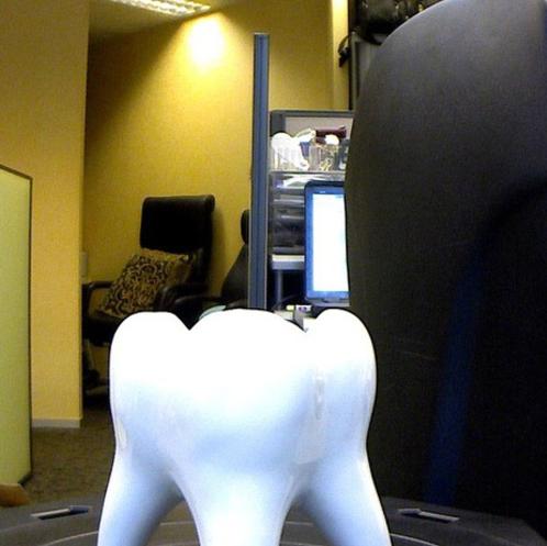 超大颗牙齿