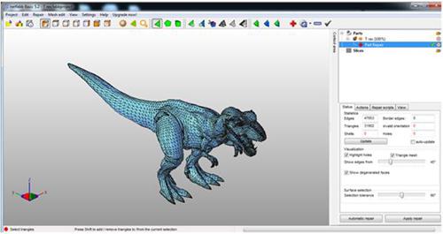 避免模型不能打印 推荐4款好用的3D打印模型检测修模软件