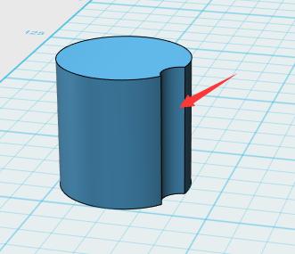 autodesk 123D中减去命令该怎么操作?