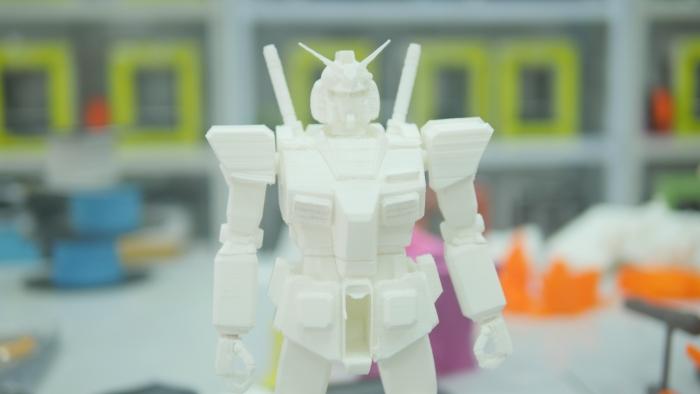 3D打印高达RX-78模型后期处理教程