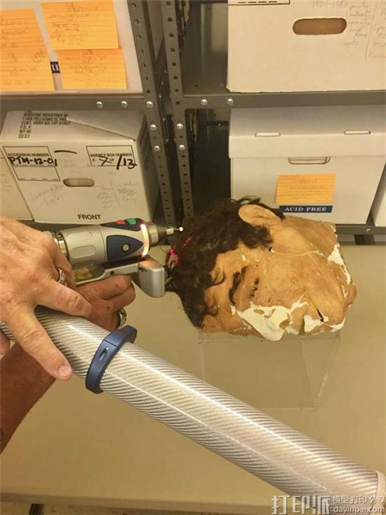 FBI对美国恶魔岛越狱事件中的假人头进行3D扫描 以保存证物