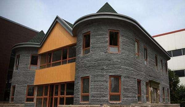 科技改变生活 3D打印房屋或能成为解决地震带区建筑抗震问题的新思路