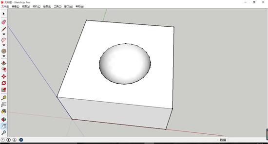 SketchUp软件中3D模型交错重叠的运用教程