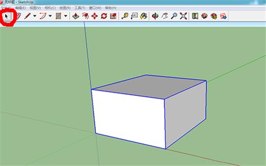 3D建模软件SketchUp中缩放工具的使用教程