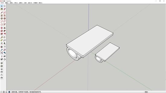 只需五步 用SketchUp建模软件绘制出一套桌椅的3D模型教程