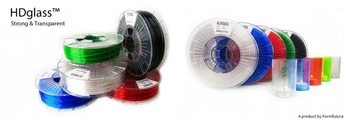 最透明3D打印线材--HDglass