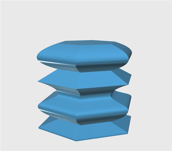 123D Design建模教程:设计一个波纹花瓶的3D模型