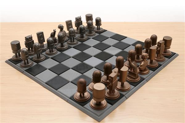Adafruit发布Circuit Playground主题的3D打印国际象棋制作教程