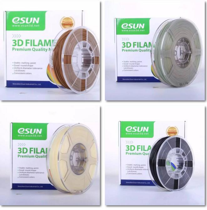 深圳eSUN易生重磅推出四款新型3D打印材料