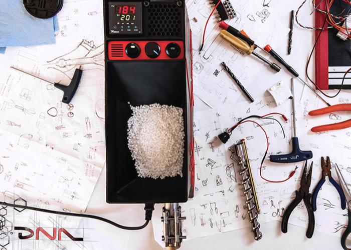 Protea Design推出家用的3D打印线材挤出机 可将废旧线材重新利用