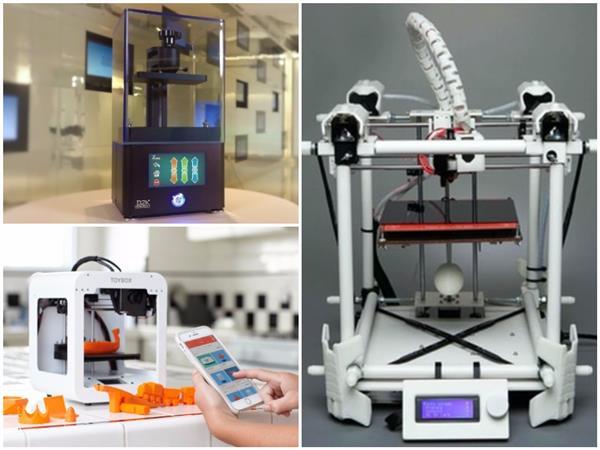 正在众筹的三款低价3D打印机:New Nine、D2K Insight、Toybox