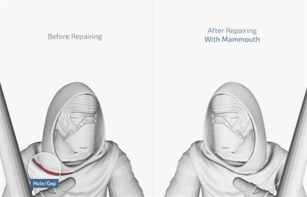 Mixed Dimensions公司推出新的3D模型修复与分析软件Mammoth