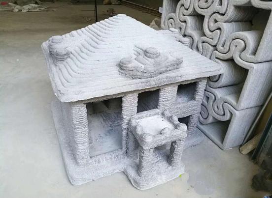 太空灰用第二代建筑3D打印机成功打造一款二层别墅小楼
