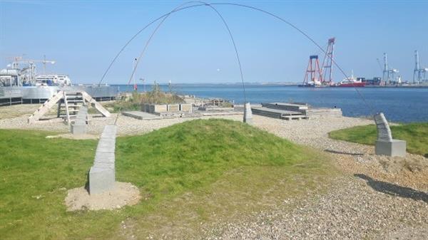 丹麦奥胡斯港新建一个3D打印的混凝土穹顶结构