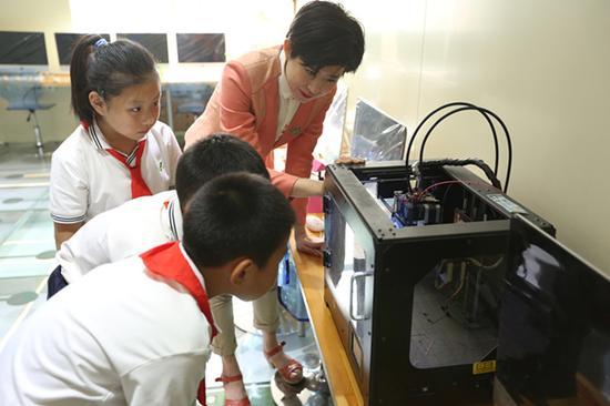 厉害了!朝阳区小学生研制3D打印鲁班锁获国家专利证书
