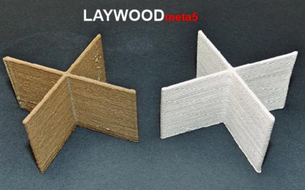 Kai Parthy推出了新的木质3D打印材料LAYWOODmeta5 能漂浮在水中