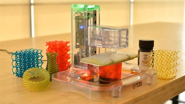 台湾T3D为用手机屏幕光做光源的SLA 3D打印机发起众筹