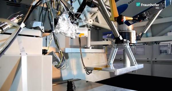 CMS与Fraunhofer IWU共同开发3D打印、机加工混合系统CMS Kreator