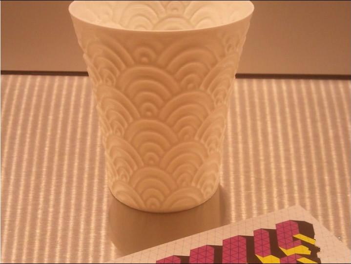 海浪水杯模型