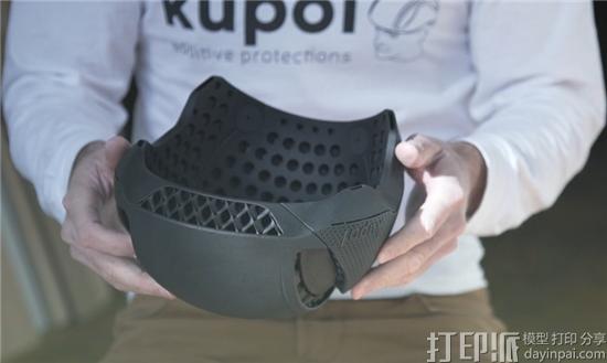 加拿大设计师开发出舒适、轻便的3D打印自行车头盔