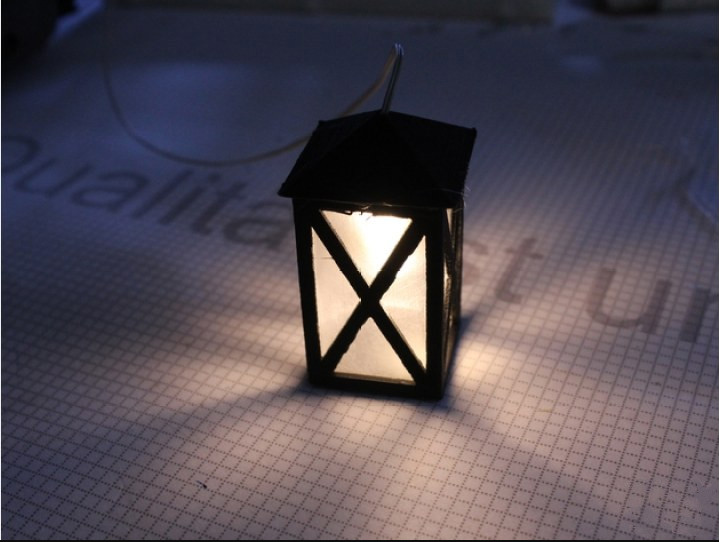 复古灯笼模型