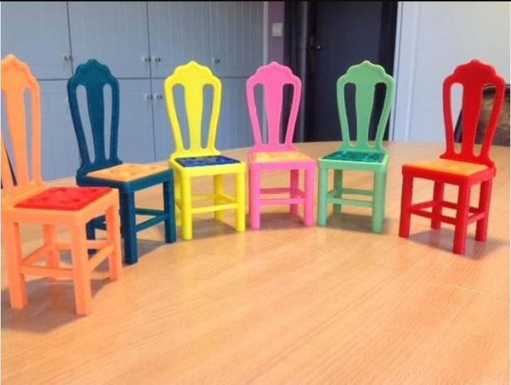 精致小座椅模型